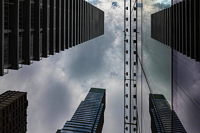 Catch Of The Day - Reflected City by Robert Ullmann