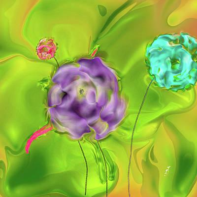 Staff Picks Judy Bernier - 3 Roses #j6 by Leif Sohlman