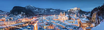 Sean Rights Managed Images - Salzburg Winter Dreams Royalty-Free Image by JR Photography
