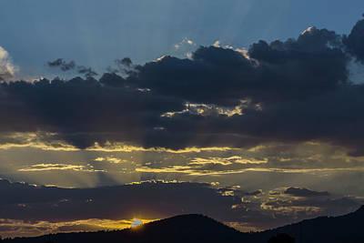 Staff Picks Cortney Herron - Sunset Williams AZ with storm clould. by Richard Tatro