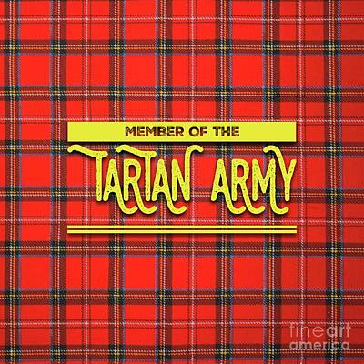 Royalty-Free and Rights-Managed Images - Tartan Army - Bay City Rollers by Esoterica Art Agency