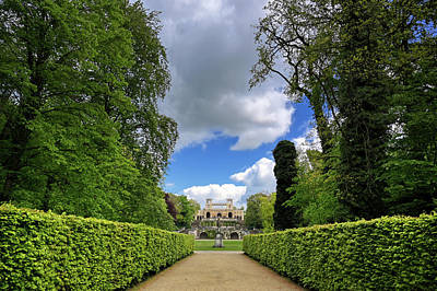 School Tote Bags - The Orangery Palace in Potsdam, Germany by James Byard