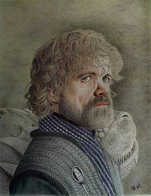 Drawing - Tyrion Lannister by Vanessa Cole