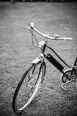 Photograph - Vintage Bicycle by Nick Paschalis
