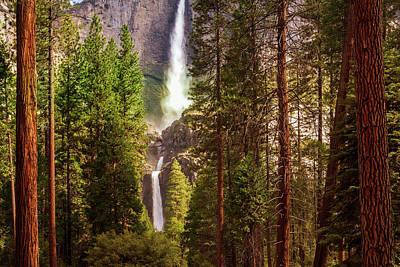 Audrey Hepburn - Yosemite Falls by Andrew Soundarajan