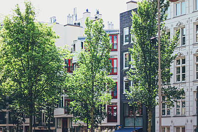 From The Kitchen - Main downtown street in the city center of Amsterdam in Netherla by Anneleven Store
