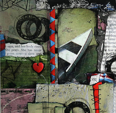 Mixed Media - #352 by Laura Lein-Svencner
