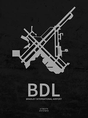 Winter Animals Rights Managed Images - BDL Bradley International Airport in Windsor Locks Connecticut U Royalty-Free Image by Jurq Studio