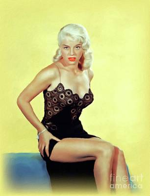 Royalty-Free and Rights-Managed Images - Diana Dors, Movie Icon by John Springfield