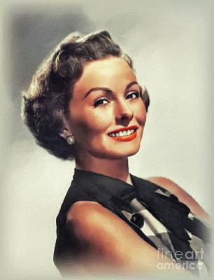 Royalty-Free and Rights-Managed Images - Jeanne Crain, Hollywood Icon by John Springfield
