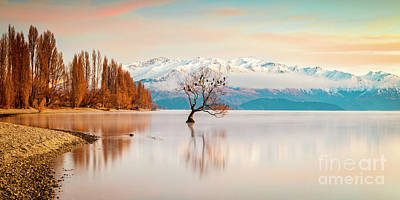 Tool Paintings - Lake Wanaka, Otago, New Zealand by Colin and Linda McKie