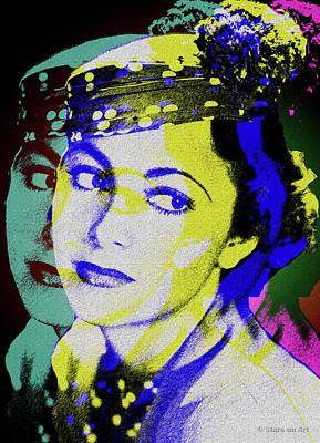 Digital Art - Olivia de Havilland by Stars on Art