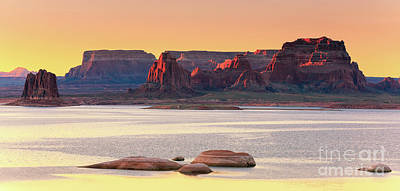Anchor Down - Padre Bay, Lake Powell by Henk Meijer Photography