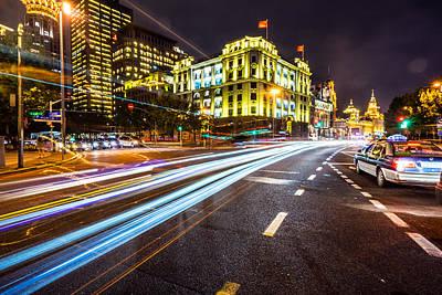 Photograph - Shanghai, China by Janna Jensen