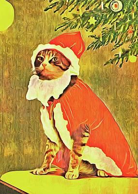 Lucille Ball - 44 Retro Cat Artwork by John Shepherd