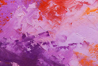 Royalty-Free and Rights-Managed Images - Abstract Oil Paint Texture On Canvas, Background by Julien
