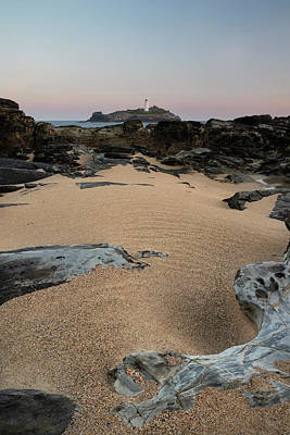 Pasta Al Dente - Beautiful and unusual landscape image of landmark Godrevy lighth by Matthew Gibson
