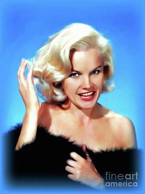 Royalty-Free and Rights-Managed Images - Carroll Baker, Vintage Actress by John Springfield