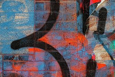 Animal Portraits - Detail of Graffiti by Robert Ullmann