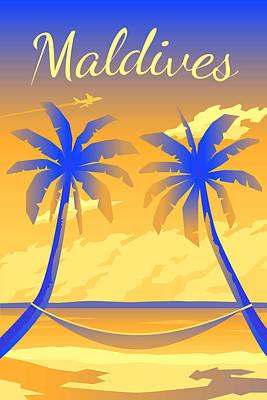 Parks - Maldives by Celestial Images