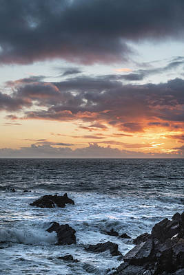Truck Art Rights Managed Images - Stunning landscape image of view from Hartland Quay in Devon Eng Royalty-Free Image by Matthew Gibson