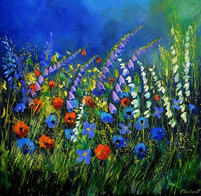 Painting Royalty Free Images - Wild flowers Royalty-Free Image by Pol Ledent