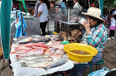 Gaugin Rights Managed Images - Market in Rivera - Colombia Royalty-Free Image by Carlos Mora