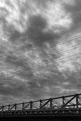 Parks - 59th Street Bridge Sky and Clouds by Robert Ullmann