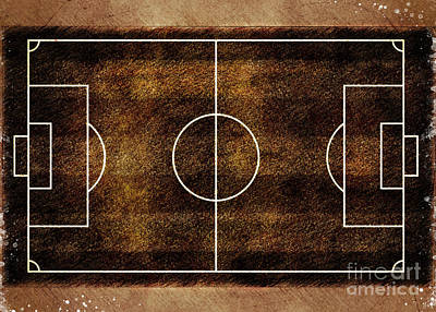 Unicorn Dust - Football player sport art #football #soccer by Justyna Jaszke JBJart