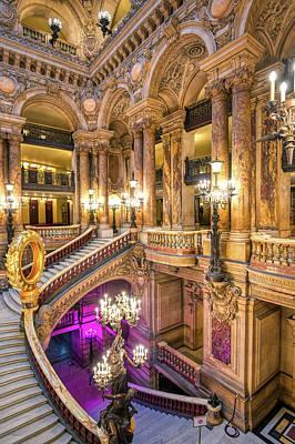 City Scenes - Palais Garnier in Paris, France by James Byard