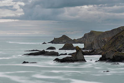 Firefighter Patents Royalty Free Images - Stunning fine art landscape image of view from Hartland Quay in  Royalty-Free Image by Matthew Gibson