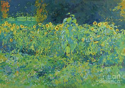 Anne Geddes - Sunflowers by Simon Kozhin