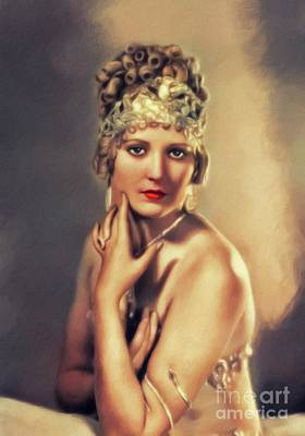 Royalty-Free and Rights-Managed Images - Thelma Todd, Vintage Actress by Esoterica Art Agency