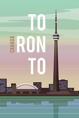 Latidude Image - Toronto by Celestial Images