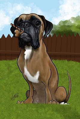 Royalty-Free and Rights-Managed Images - 6034 Calabro by Canine Caricatures Custom Merchandise