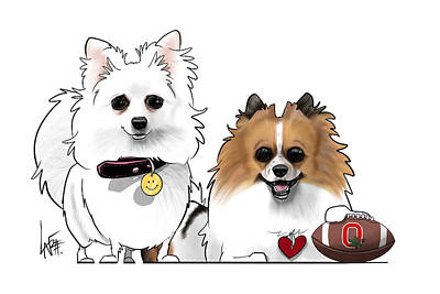 Staff Picks Cortney Herron - 6137 Adams by Canine Caricatures Custom Merchandise