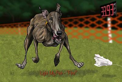 Royalty-Free and Rights-Managed Images - 6162 Rhoades by Canine Caricatures Custom Merchandise