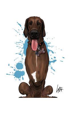 Vintage Movie Stars - 6164 Cornish by Canine Caricatures Custom Merchandise