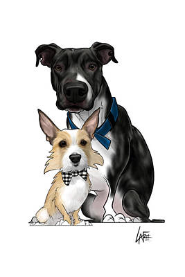 Rowing - 6166 Nofsinger by Canine Caricatures Custom Merchandise