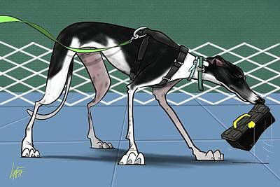 Royalty-Free and Rights-Managed Images - 6170 Rhoades by Canine Caricatures Custom Merchandise