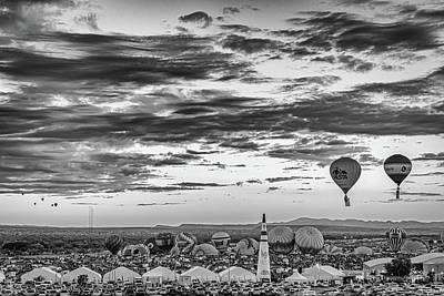 Sports Royalty-Free and Rights-Managed Images - Albuquerque Hot Air Balloon Fiesta by Gestalt Imagery