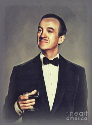 Fine Dining - David Niven, Vintage Actor by John Springfield