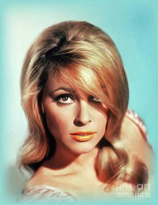 Royalty-Free and Rights-Managed Images - Sharon Tate, Hollywood Legend by John Springfield