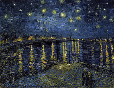 Easter Egg Hunt - Starry Night Over the Rhone by Vincent van Gogh