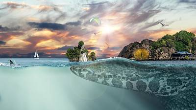 Surrealism Royalty Free Images - Fantasy Royalty-Free Image by Artistic Panda