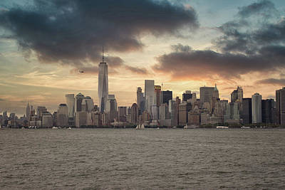 Royalty-Free and Rights-Managed Images - New York Skyline by Martin Newman