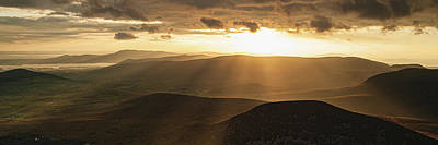 Photograph - Sunset in the Mourne Mountains by Darren Forde