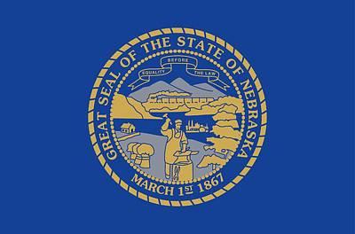 Kitchen Mark Rogan - 842942 Nebraska state flag by Encyclopaedia Britannica UIG