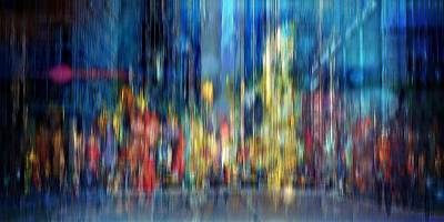 Abstract Royalty-Free and Rights-Managed Images - A Blur of Memories by David Manlove