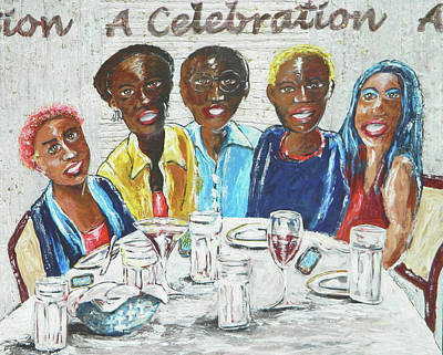 Painting - A Celebration by John Pendarvis